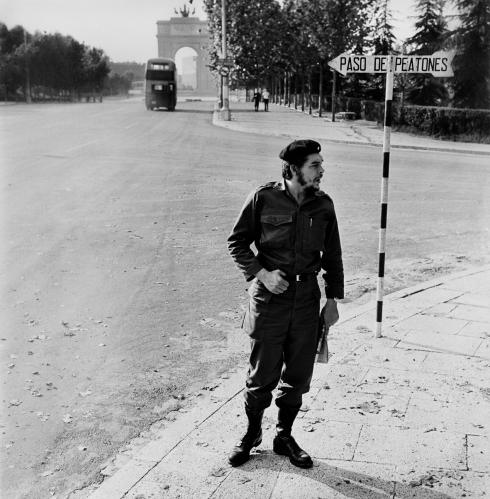 Che Guevara en Madrid 1959